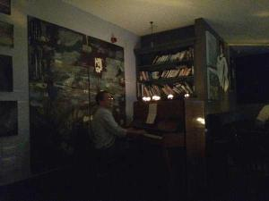 Doug at the piano
