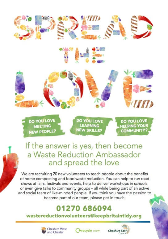 spread the love poster